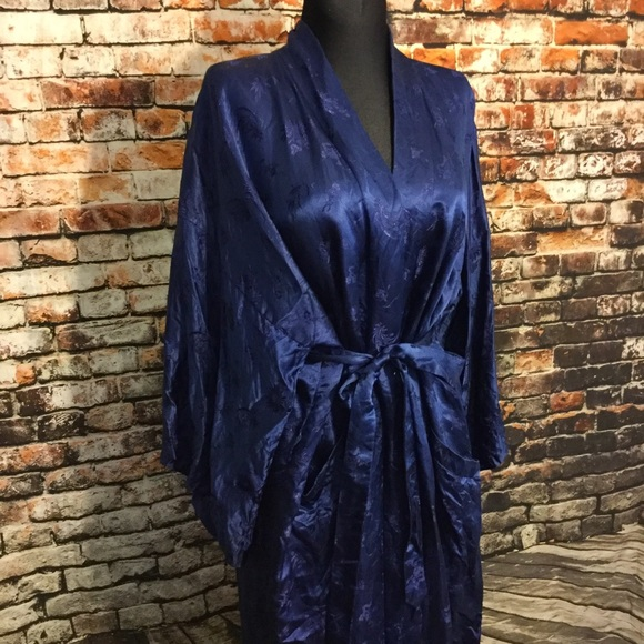 Vintage Other - Vintage silk robe , xL